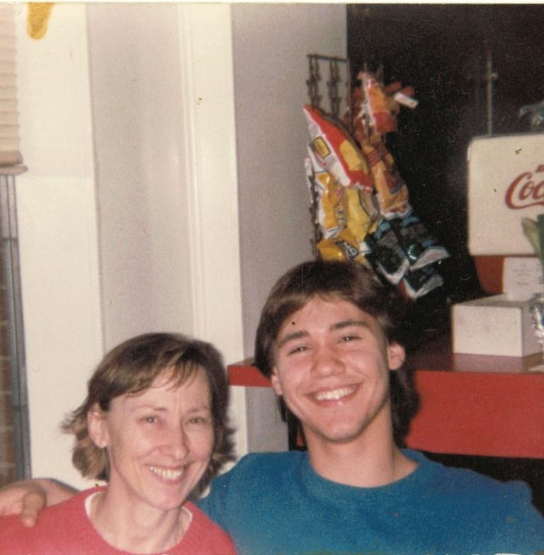 Jonathan and Joane Malek in 1987