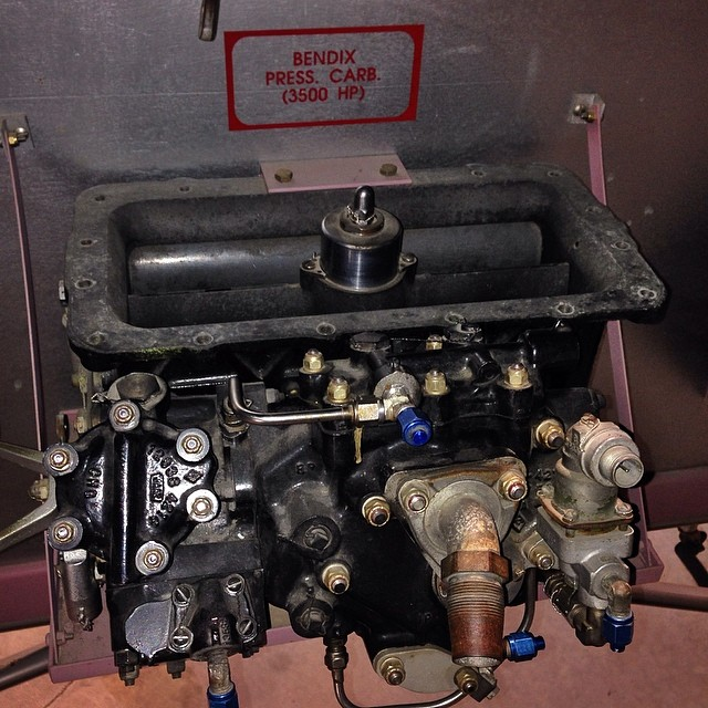 3500hp? No problem, I've got a carburetor that'll handle that. This is the carb used on the Pratt and Whitney radials.