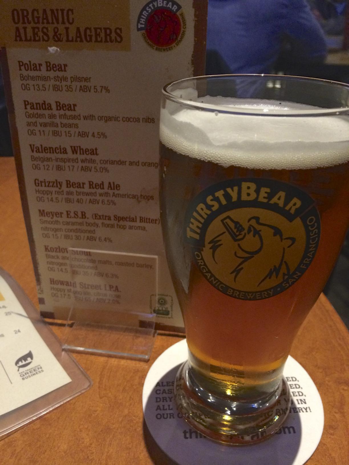 Polar Bear Wheat Beer