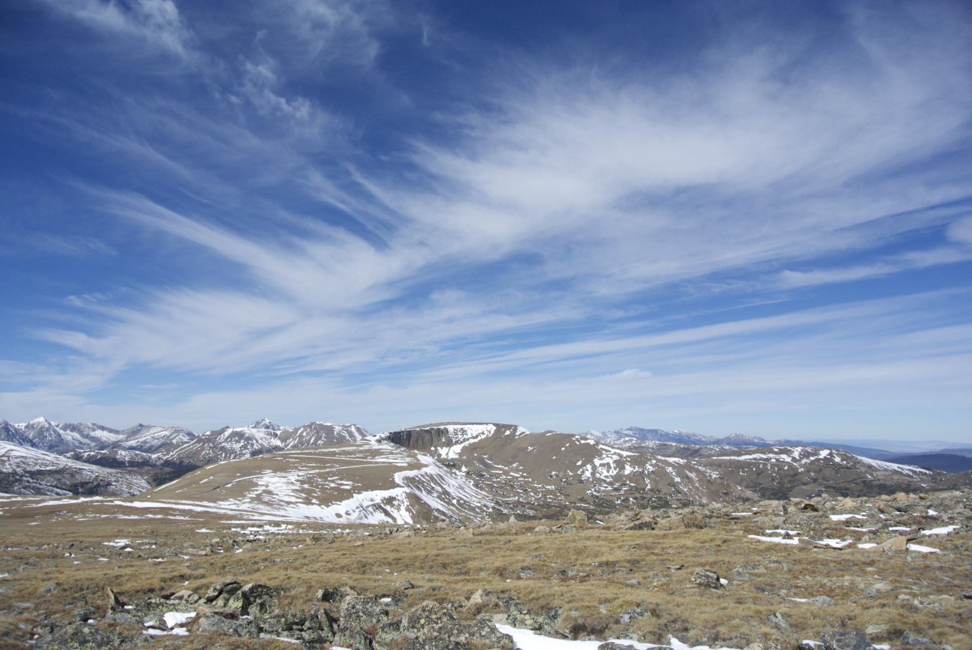 Rocky Mountain National Park - Look at those clouds!