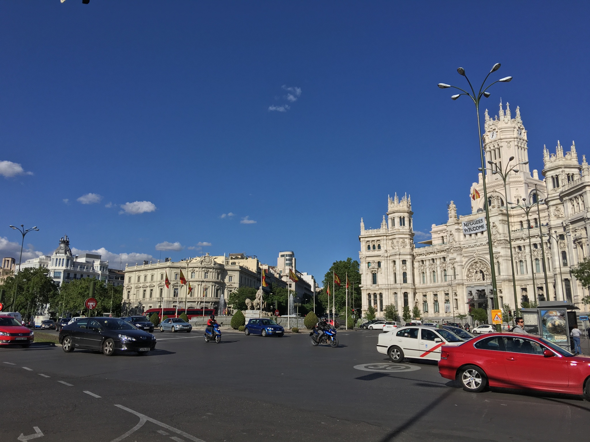 Plaza de  Cibeles , where Real Madrid comes to celebrate - near Bellas Artes