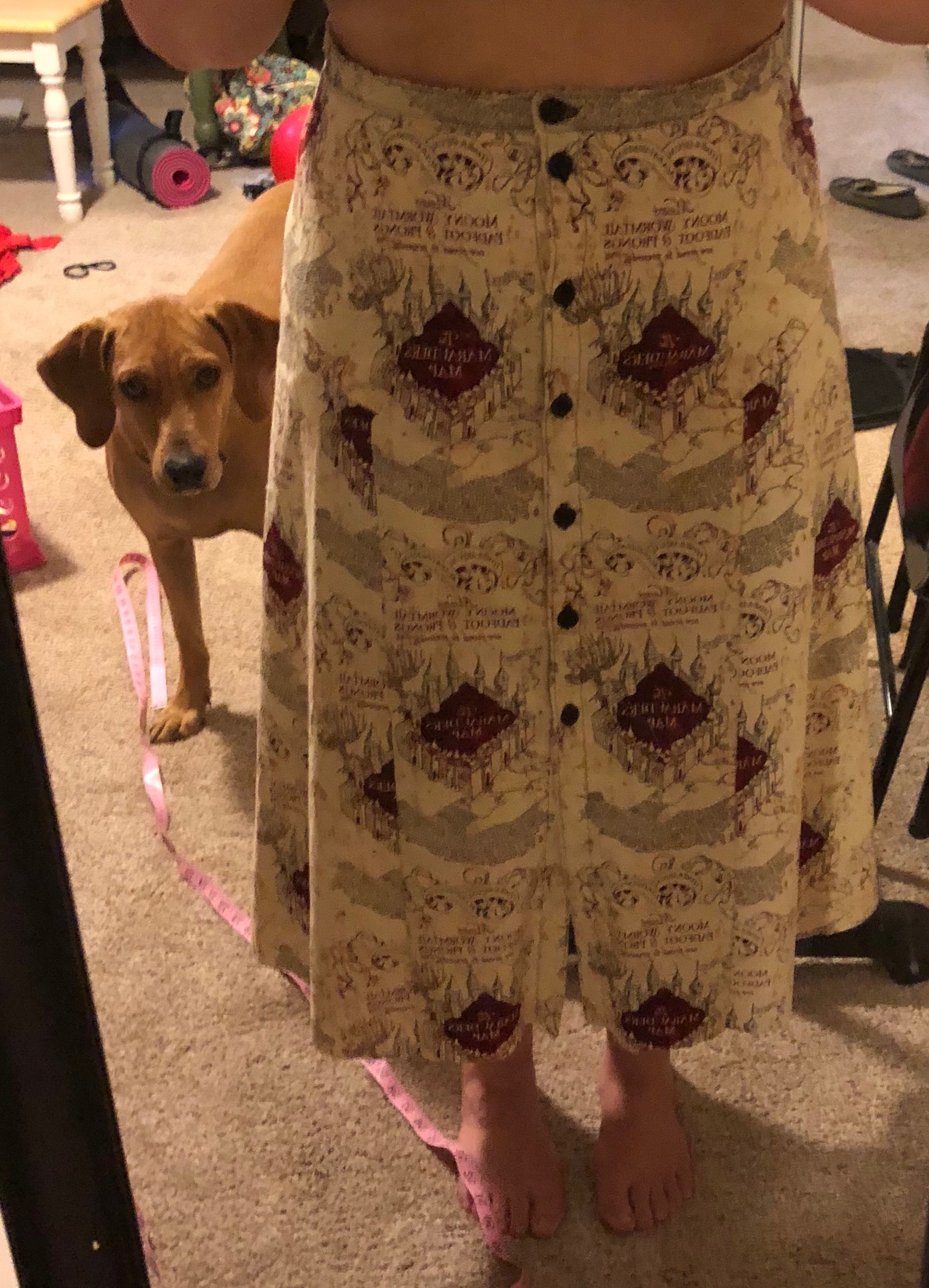 Pre-hem - plus a Ruby photobomb