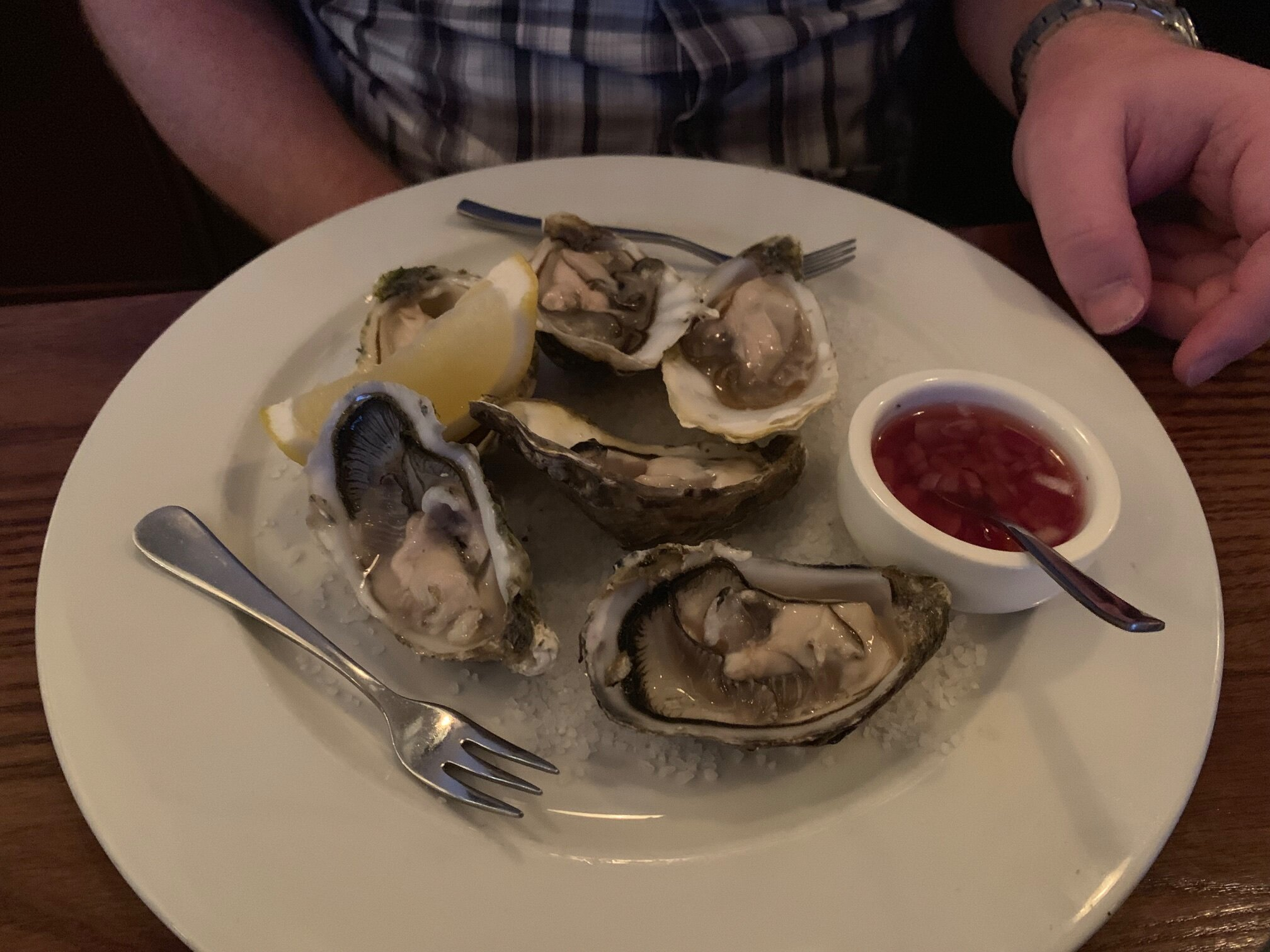 Literally the most delicious oysters ever