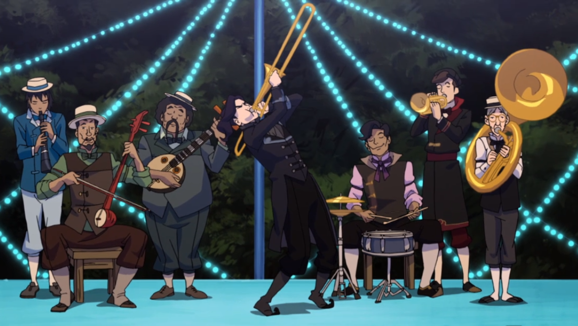 This band, led by Tahno, is comprised entirely of supporting characters.