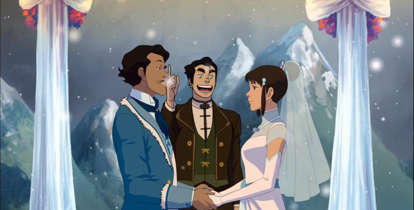 Bolin married Varrick and Zhu Li!!!
