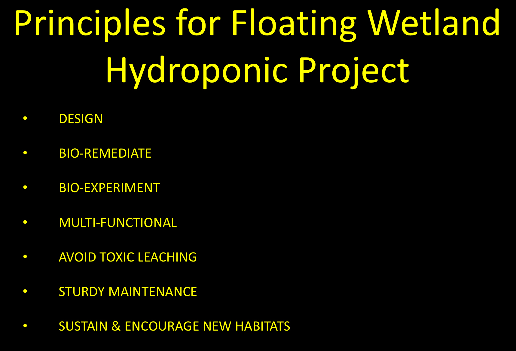 Click above for pdf of floating island principles of the concept, fabrication and purposes.