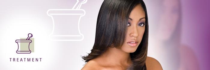 black-african american-woman-sondrea salon-natural-relaxer-shampoo-design essentials-treatment