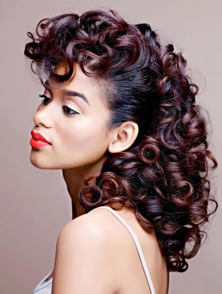 black-african american-woman-sondrea salon- color highlights-el paso texas