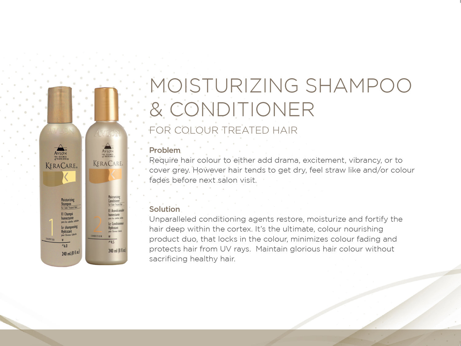 KeraCare Moisturizing Shampoo & Conditioner