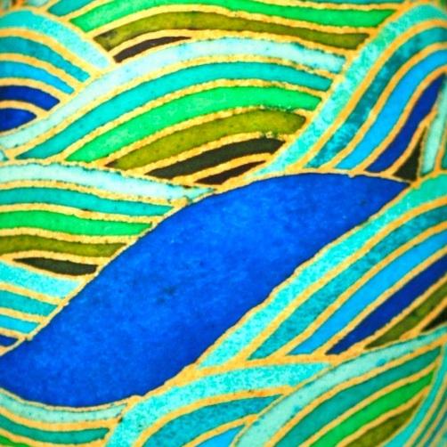 Katy David - Blue Hole Drift (detail)