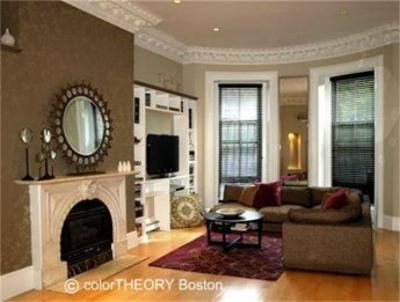 Boston Interior Design / Color Consultation / Interior Painting / Wallpaper Hanging