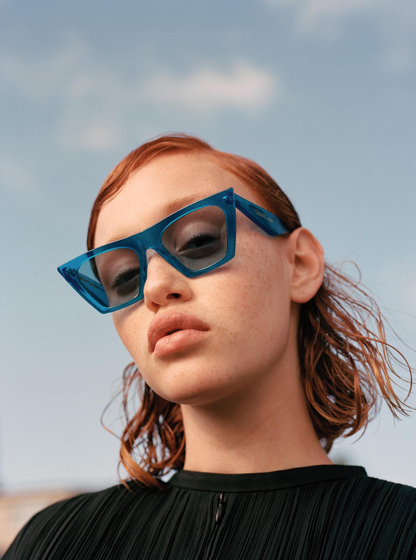 Jill Sander  Dress   C é line  Sunglasses
