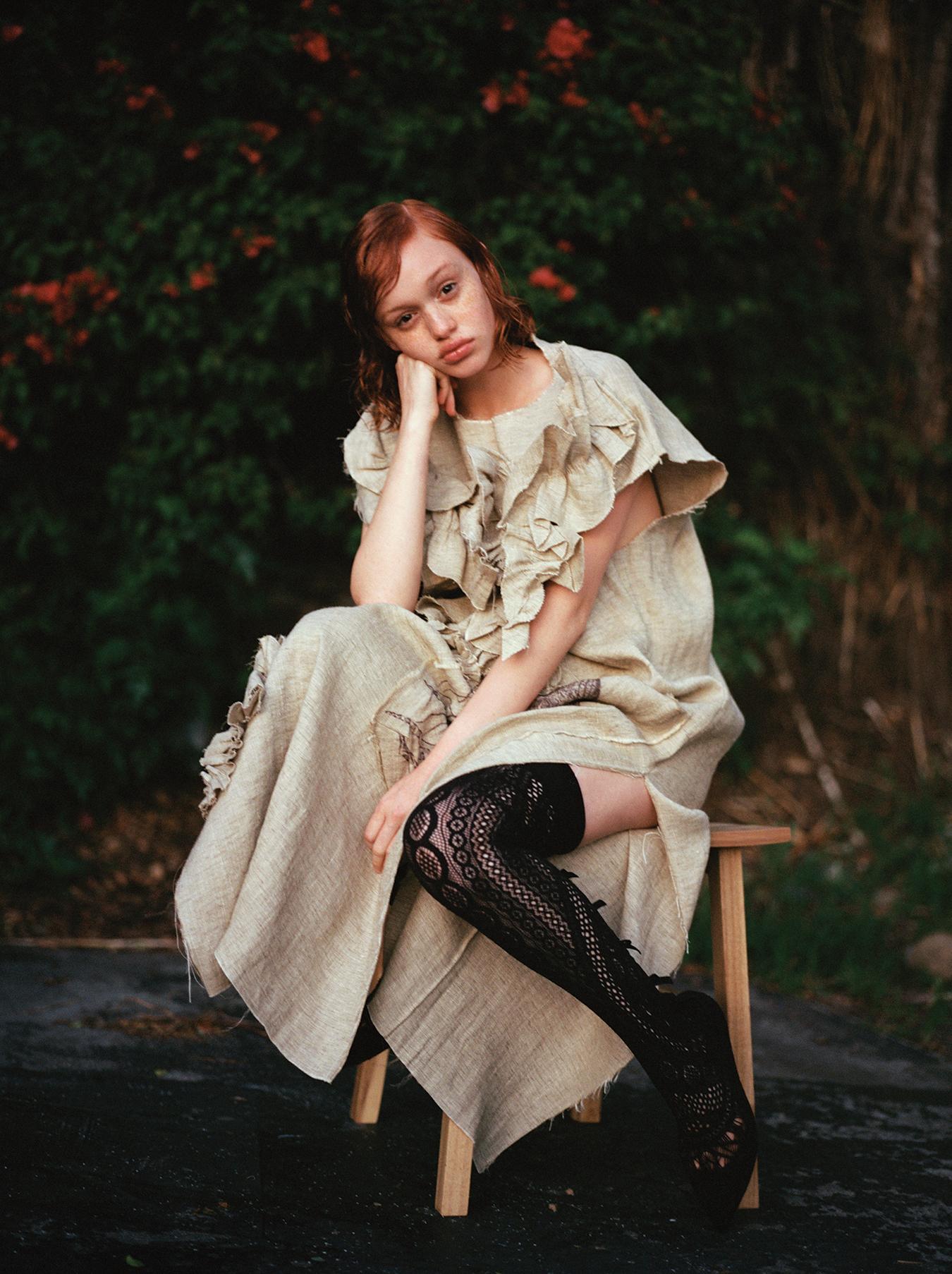 A.W.A.K.E.  Dress   Christian Louboutin  Boots