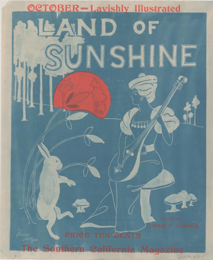 Land of Sunshine, The Southern California Magazin  e , (1890). Courtesy the Library of Congress.