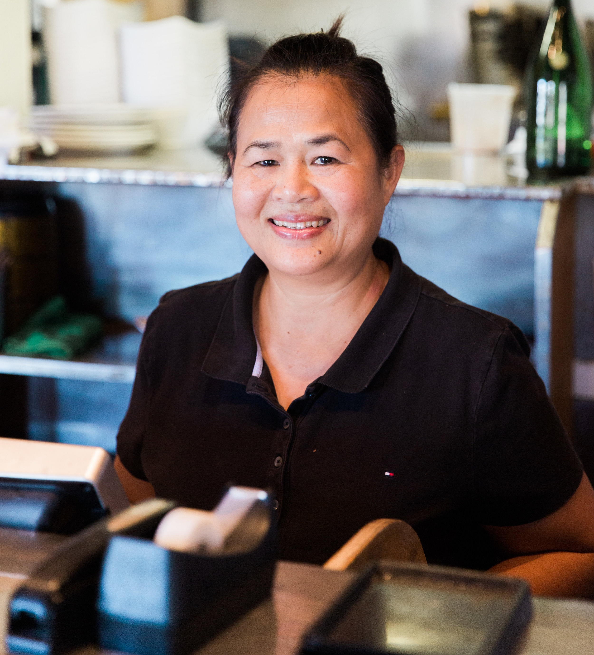 Sawai Theprian and her husband Nikorn Sriwichailumpan took over Cholada Thai Beach Cuisine in 2000.