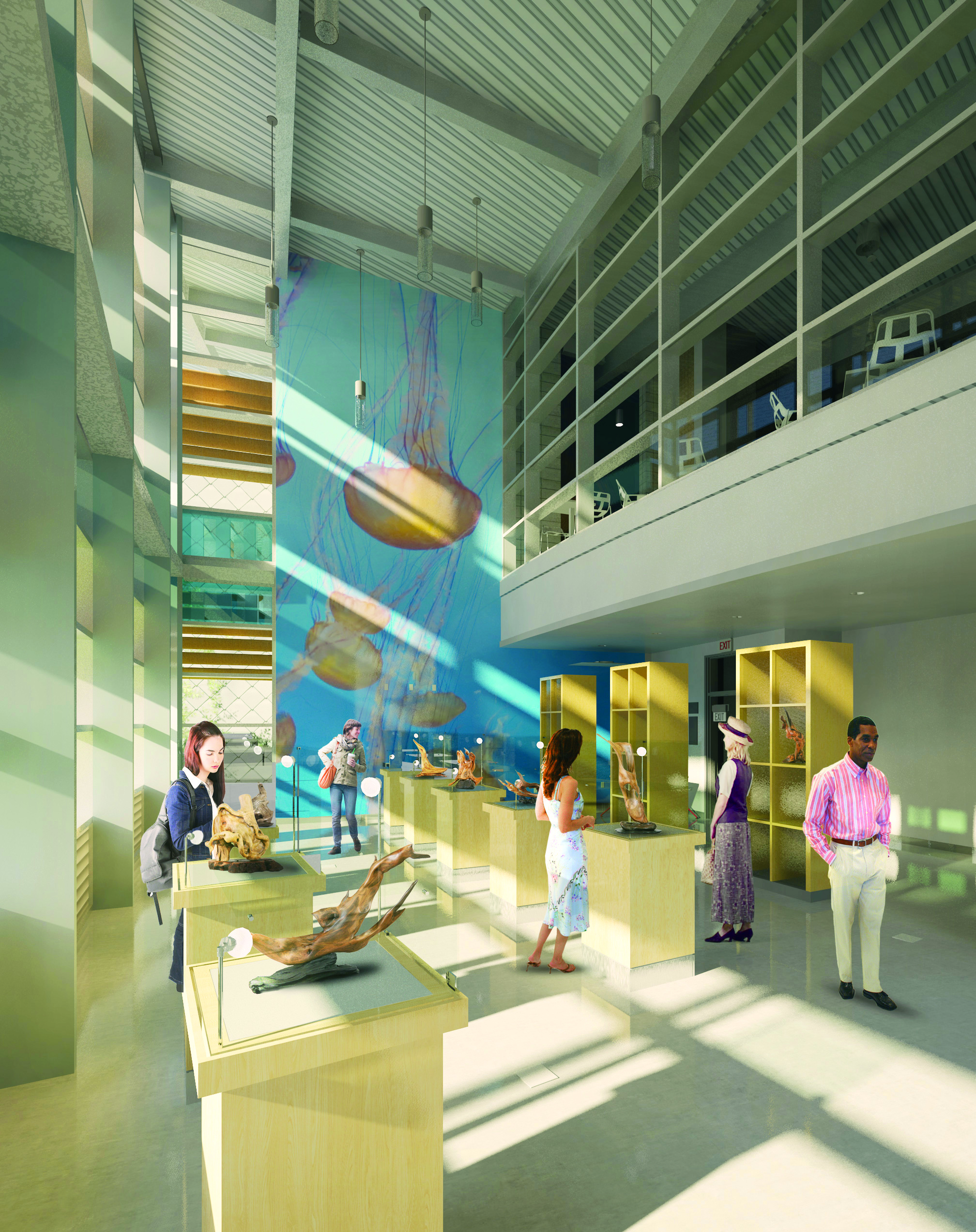 The state-of-the-art facility will comprise classrooms, a computer lab and a music/lecture hall.