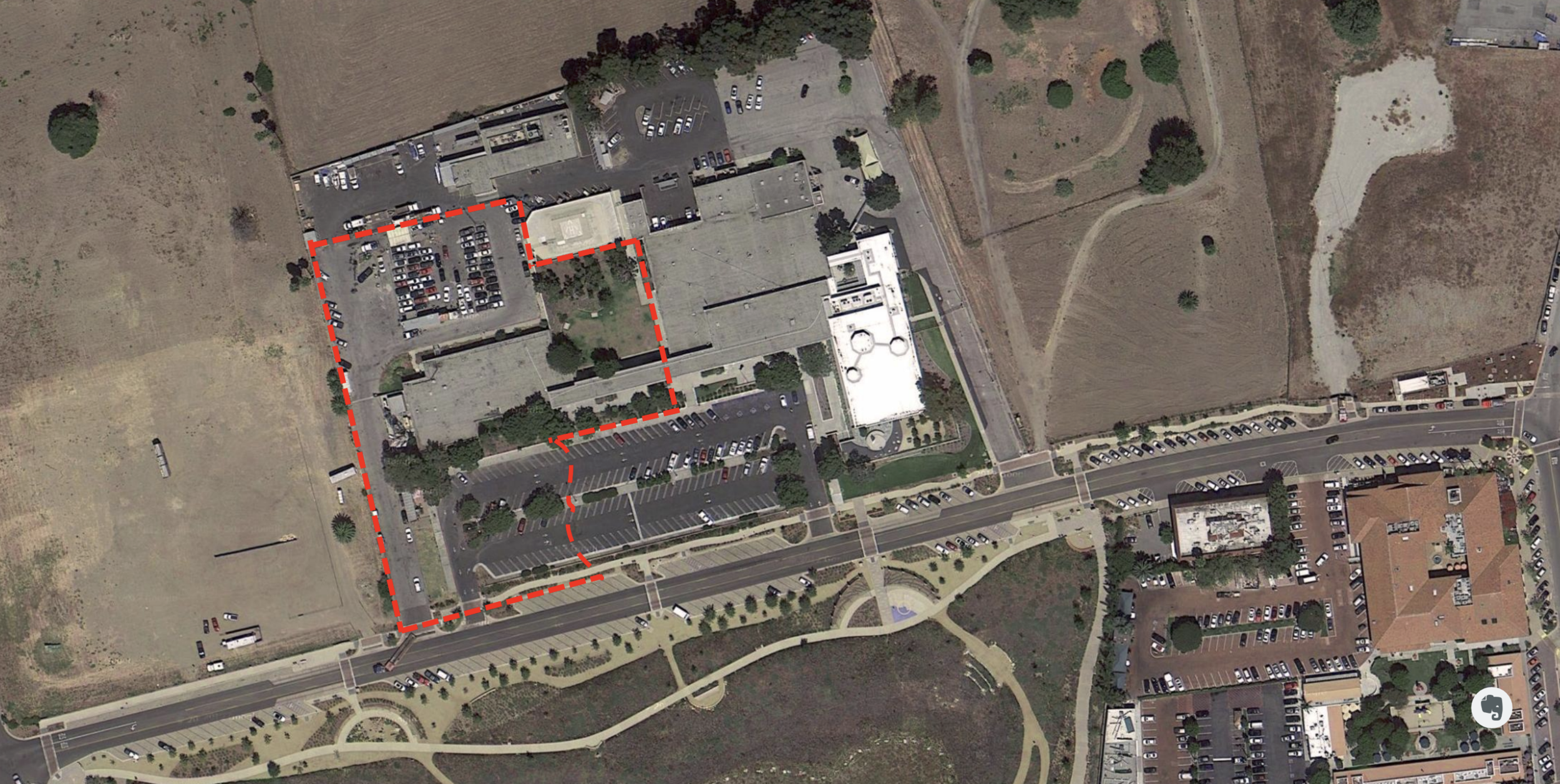 The new campus will be nestled in a three-acre lot across from Legacy Park, within the Civic Center Complex.