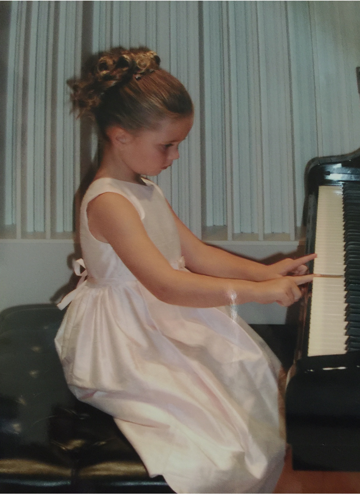 Catherine Matthews began playing piano at the age of four.