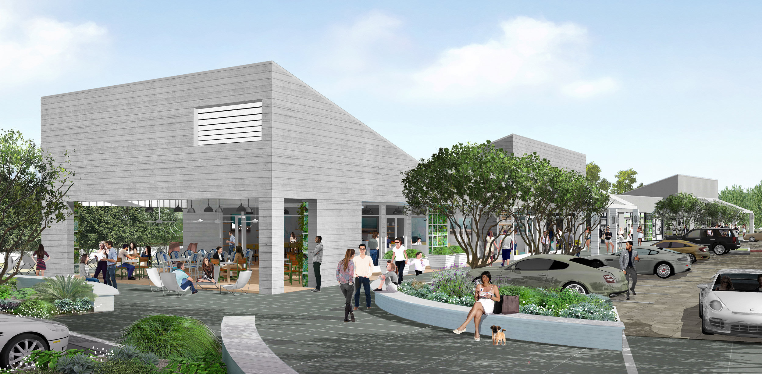 Steve Soboroff's latest venture, named The Park, will bring retail and dining options as well as a slew of community features to the Civic Center area when it opens in 2019.
