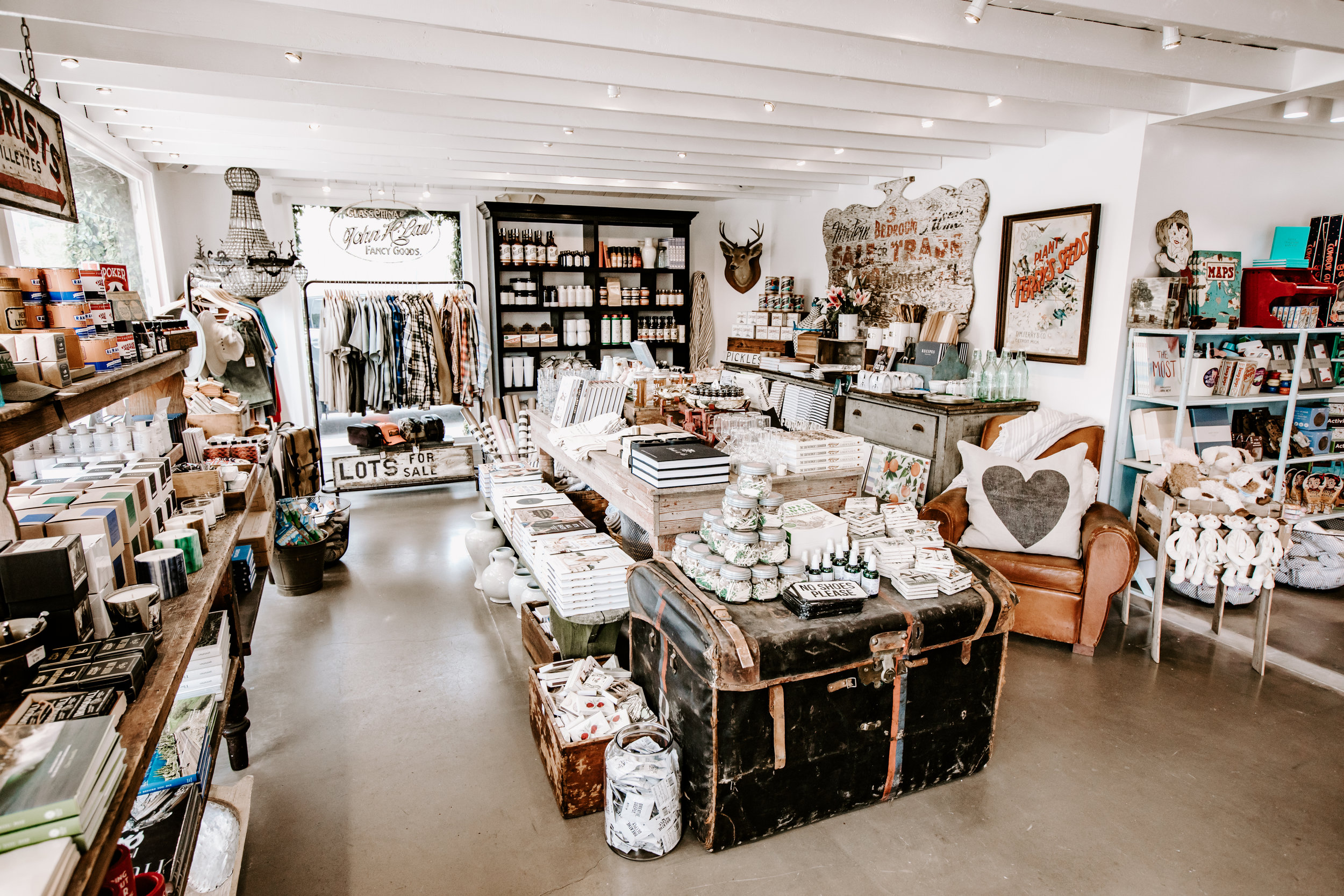 The new White's Mercantile store in the Malibu Country Mart opened in May.