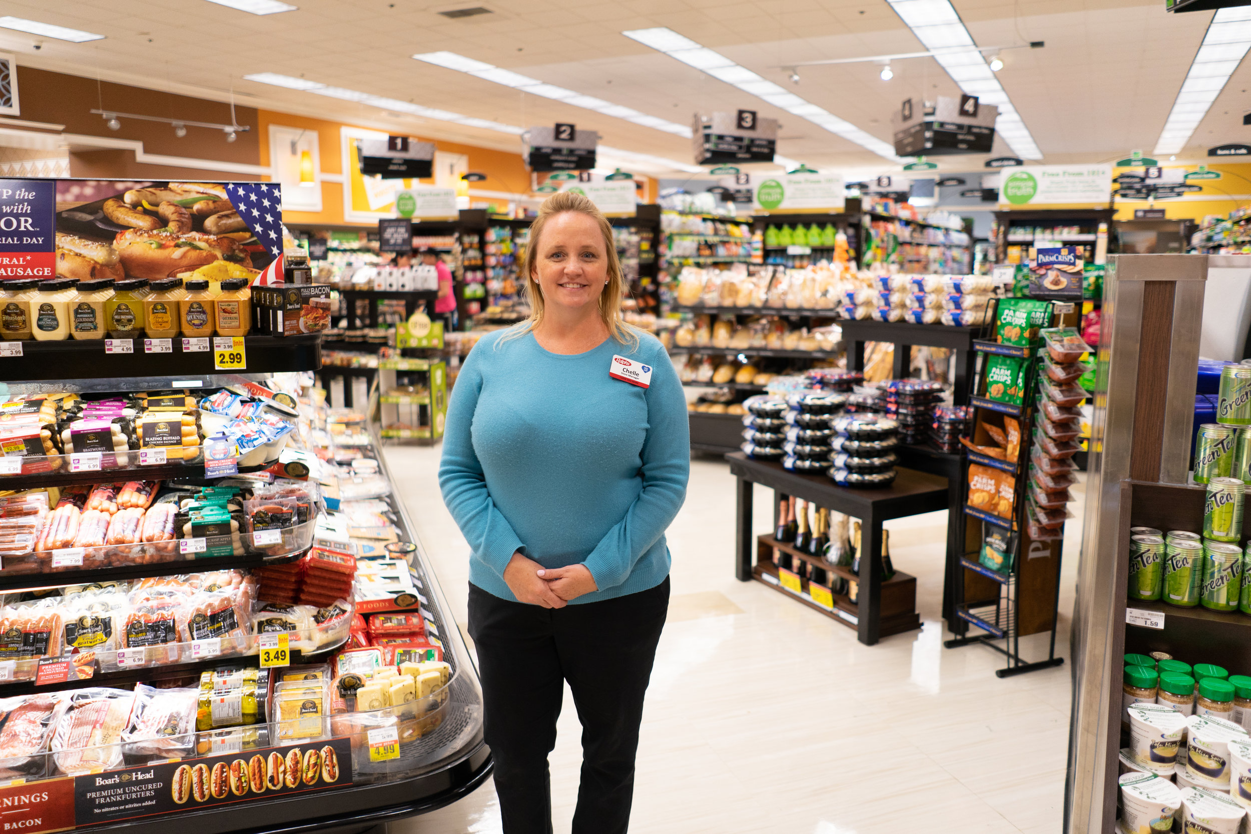 Chelle Lujan has been the store manager at Ralphs Malibu for a decade.