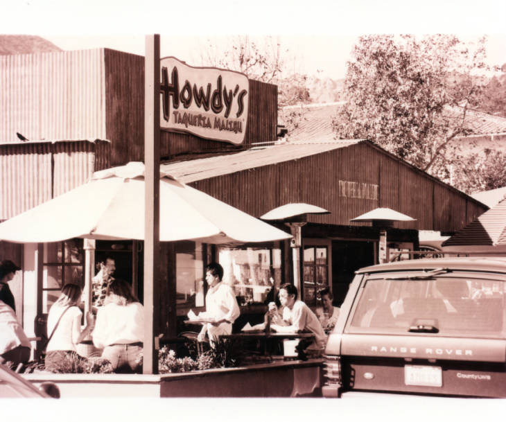 The original Howdy's in the Malibu Country Mart.