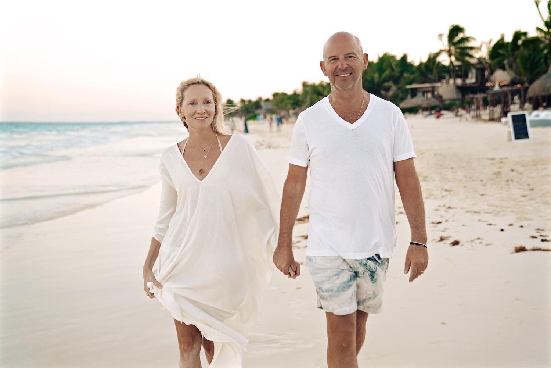 Co-owners Daniella Hunter and Charlie Stuart Gay.