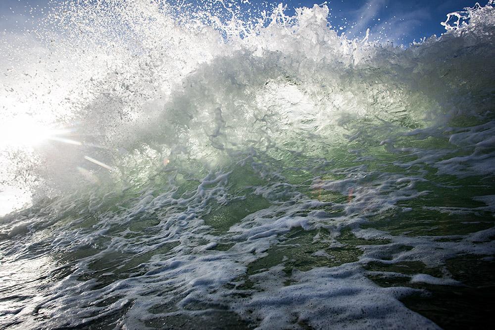 """""""Slosh"""" Gaviota coast, Ca."""
