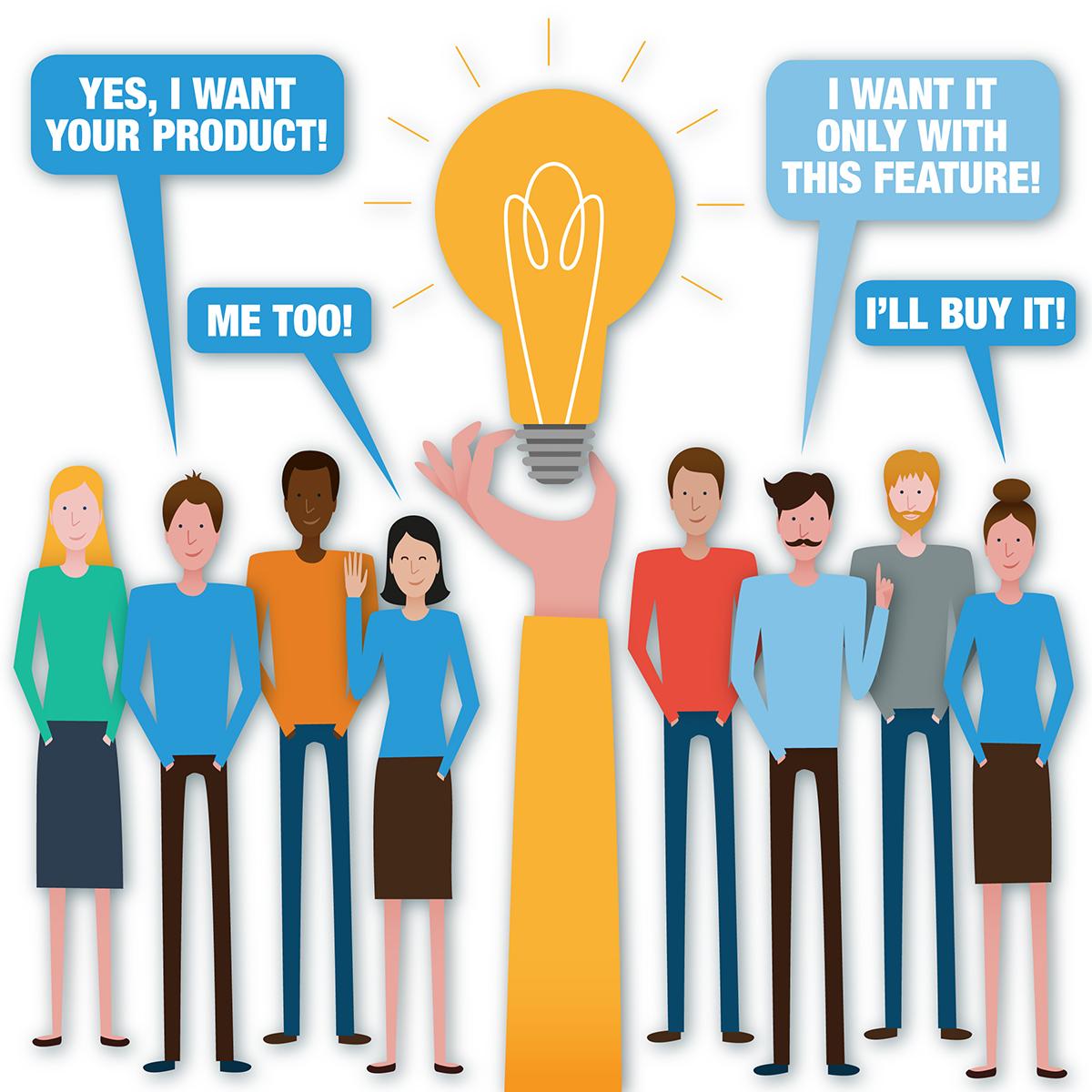 Risk free idea validation