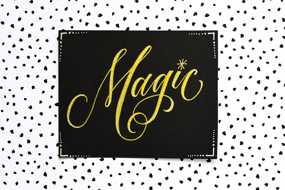 Magic   100 Days of Lettering by Type and Graphics Lab   typeandgraphicslab.com