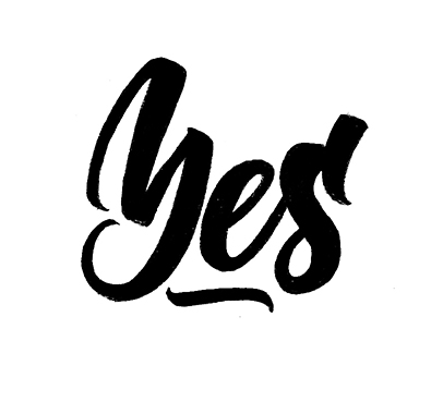 Yes   100 Days of Lettering by Type and Graphics Lab   typeandgraphicslab.com