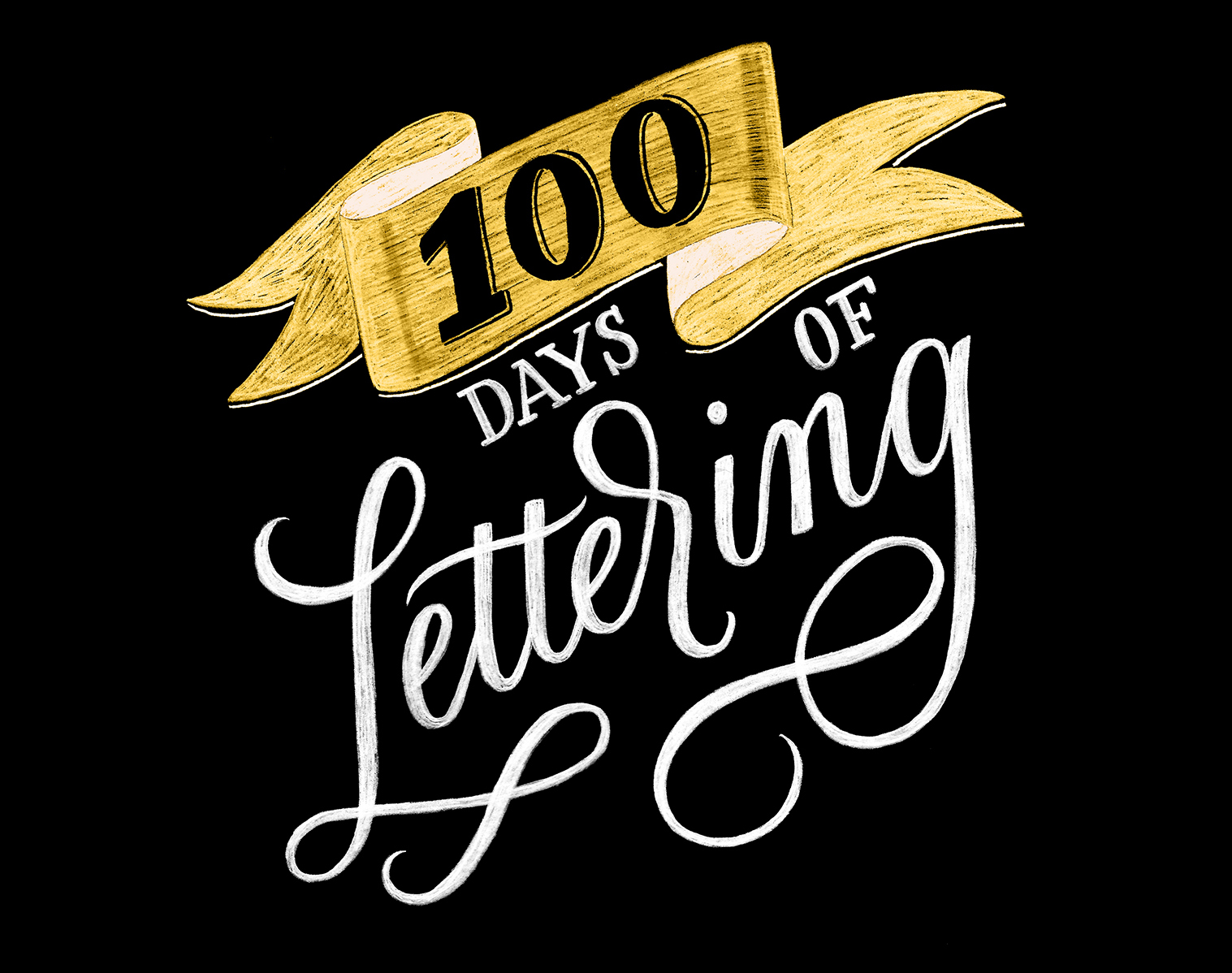 100 Days of Lettering |  By Type and Graphics Lab |   typeandgraphicslab.com