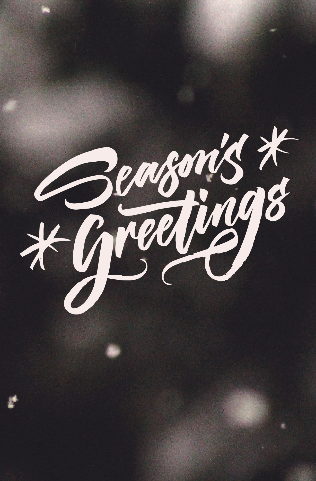 A collection of Christmas Overlays with lettering designs by Type and Graphics Lab | https://crmrkt.com/OMQk8 Photo credit: Christine Makhlouf | Source: unsplash.com