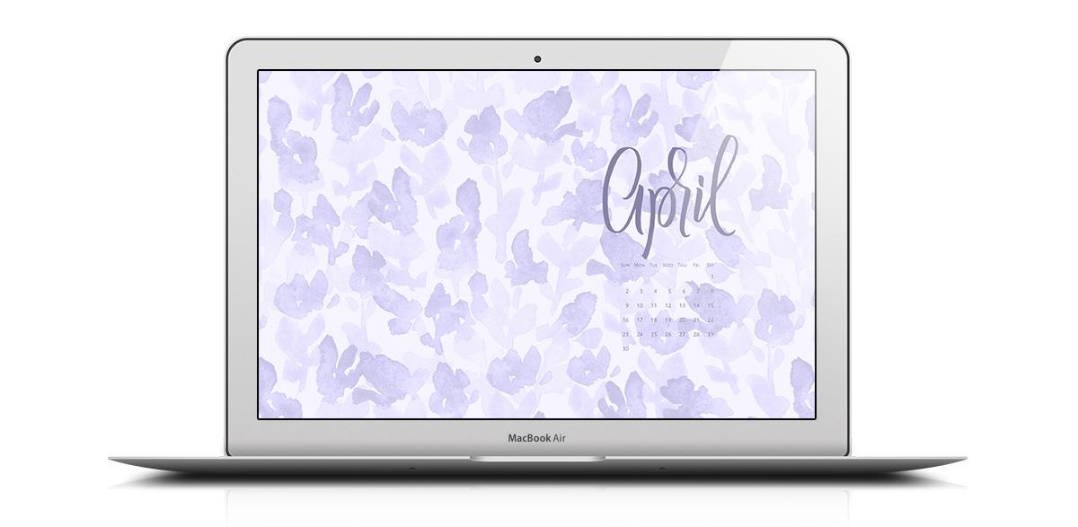 Download a free desktop calendar for April 2017 |©typeandgraphicslab.com | For personal use only