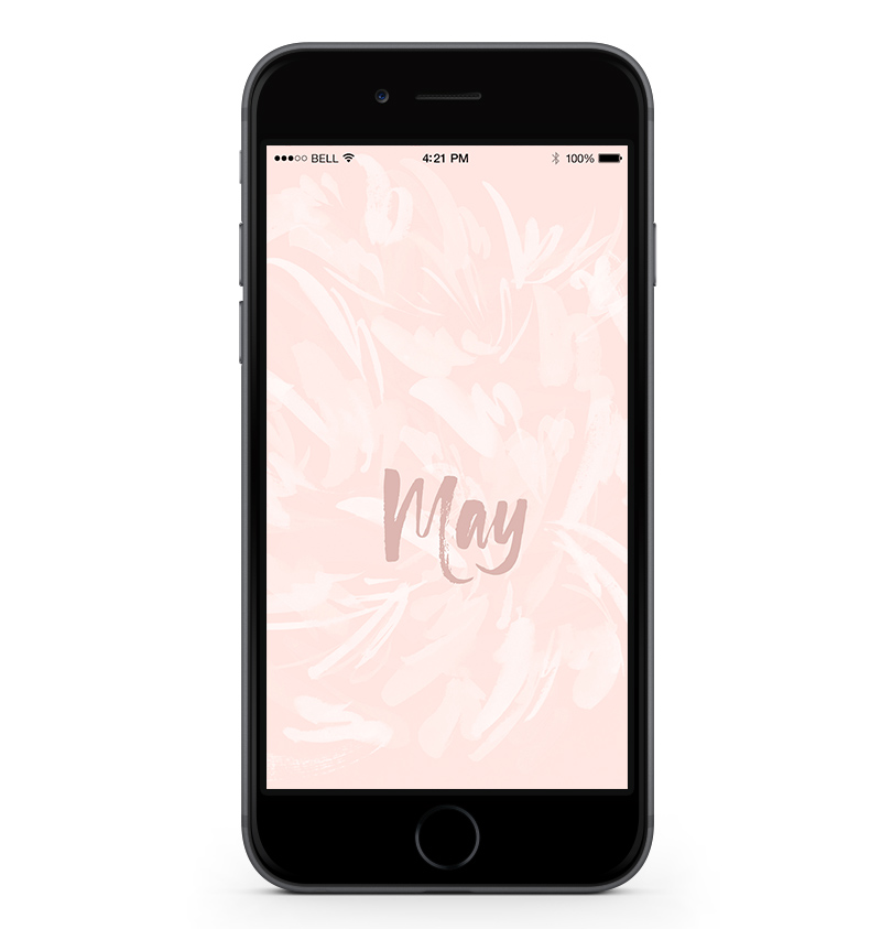 Download a free mobile calendar for May 2017 |©typeandgraphicslab.com | For personal use only