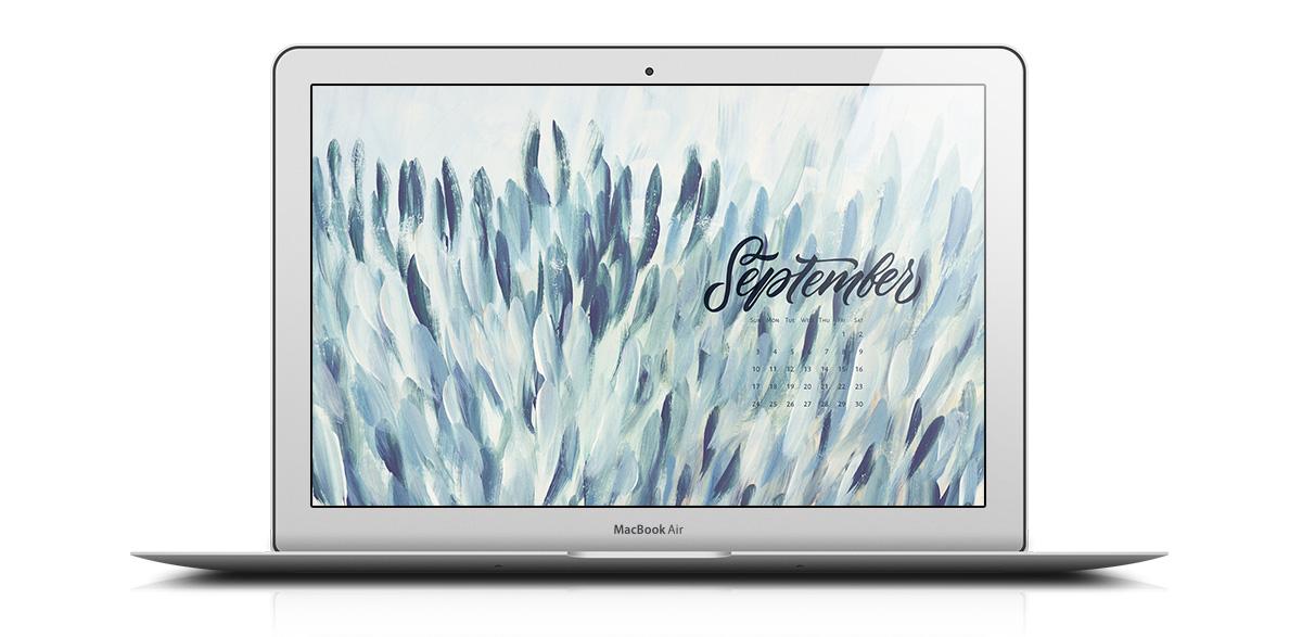 Download a free desktop calendar for September 2017 |©typeandgraphicslab.com | For personal use only