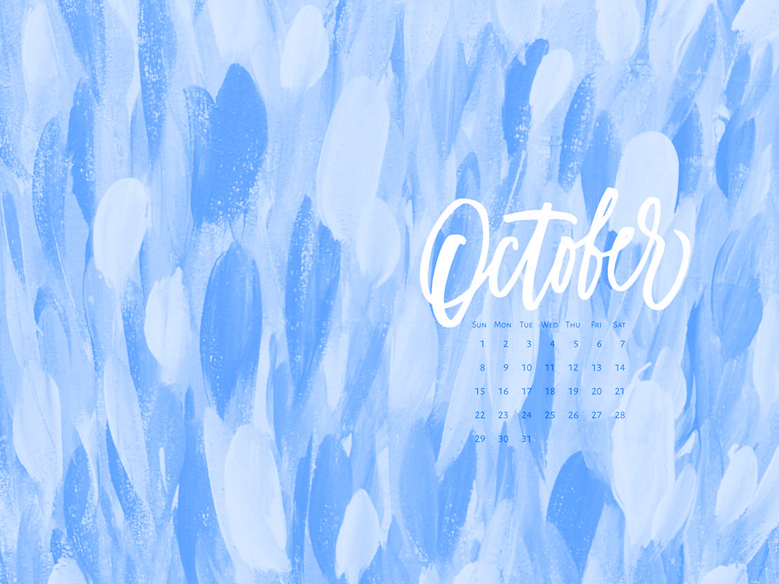 Download a free calendar for October 2017 |©typeandgraphicslab.com | For personal use only