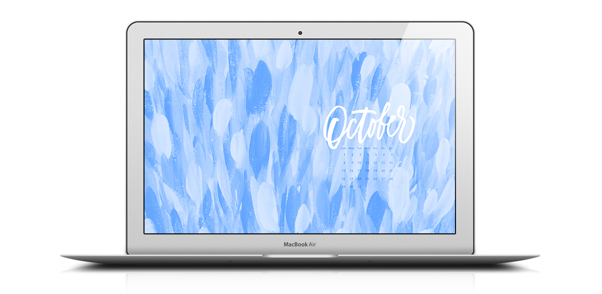 Download a free desktop calendar for October 2017 |©typeandgraphicslab.com | For personal use only
