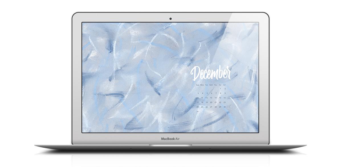 Download a free desktop calendar for December 2017 |©typeandgraphicslab.com | For personal use only