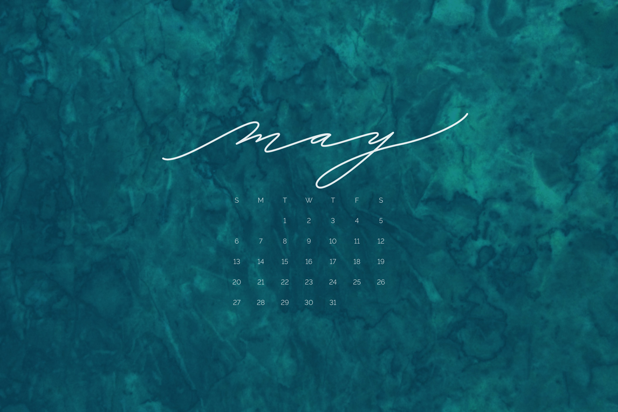 Download free desktop, mobile, and printable calendar for May 2018 | © typeandgraphicslab.com | For personal use only
