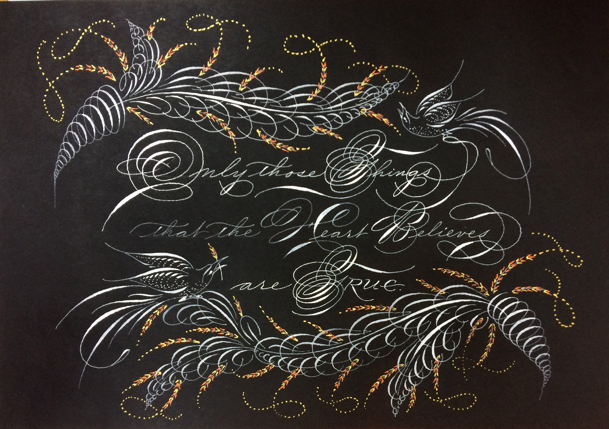 Calligraphy by Michael Sull