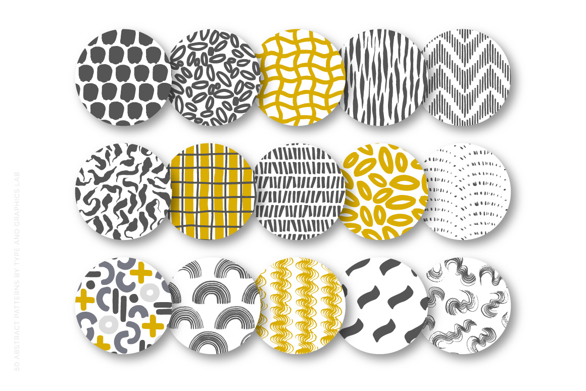 A brand new collection of 50 Abstract Patterns is available on Creative Market:  https://crmrkt.com/qg9v23