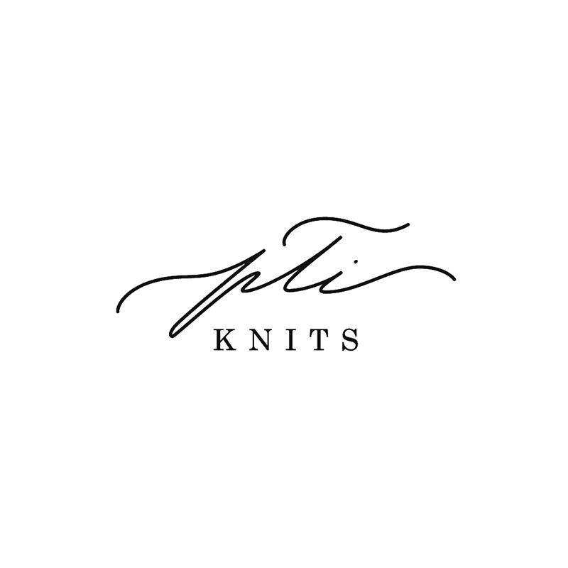 Logo design for a local knitting shop | By Svetlana Postikova, a graphic designer and lettering artist behind Type and Graphics Lab | typeandgraphicslab.com