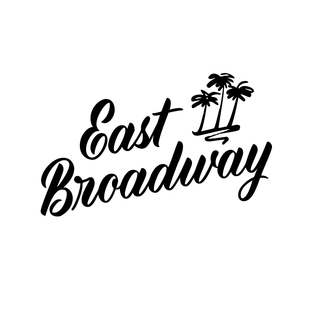 East Broadway | Logo design by Type and Graphics Lab | typeandgraphicslab.com