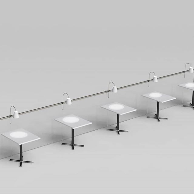 Restaurant lamp proposal to free table space, be adjustable as well as sympathetic to the interior.⠀ .⠀ .⠀ .⠀ .⠀ .⠀ #lightingdesign #lighting #lightingdesigner #industrialdesign #restaurant #restaurantlighting #restaurantdesign #vancouverdesigner #jamesplant #jamesplantdesignstudio #londondesigner  #jamesplantstudio #3Dmodelling #quickrender #concept #ROH #assembly #vancouverdesign #prototype #sample