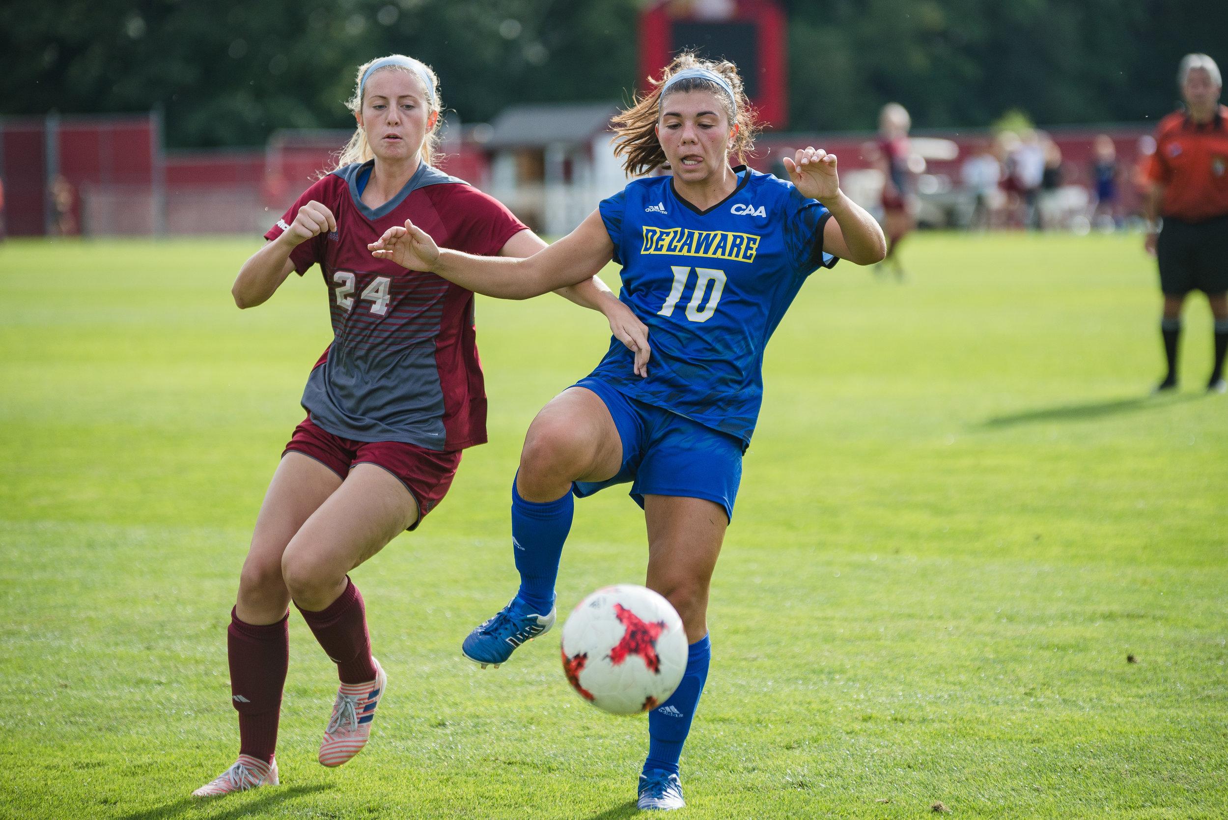 UMass Women's Soccer vs Delaware (Photo by Judith Gibson-Okunieff)