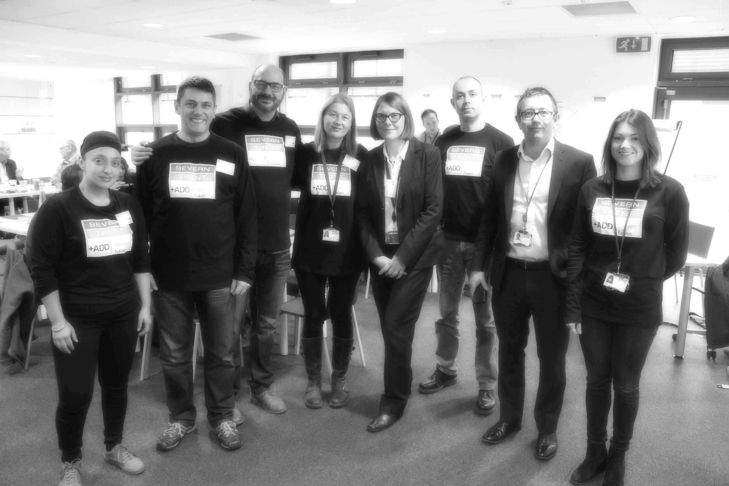 +ADD team with Severn Trent innovation team at solveIT Leakage fusion programme                                        December 2017
