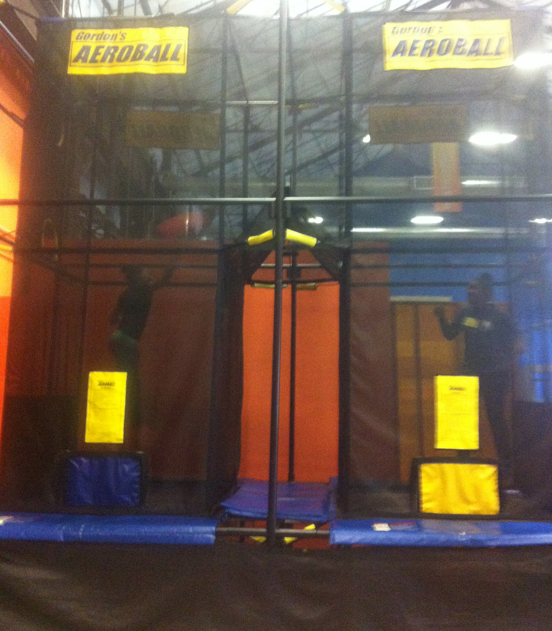 Dominating the Aeroball courts!
