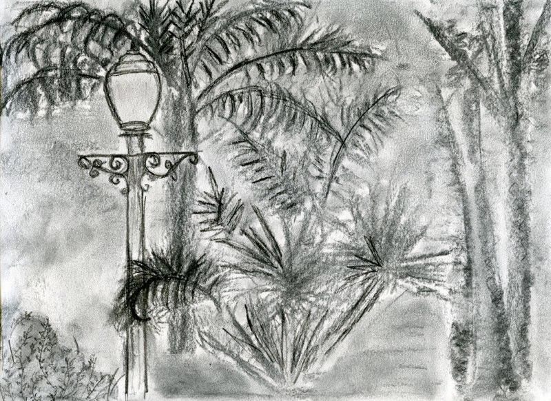 Texture Marking, Mead Garden
