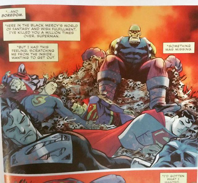 So many dead Supermen. #TrinityIssue5 #FrancisManupal